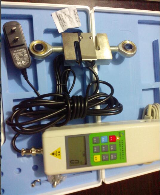 图显式高频推拉力计FA-30KN,能实时力、峰值力同屏图显示