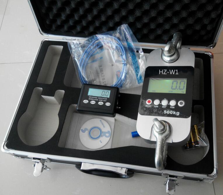 轻工用测力计HZ-WB-500kg 无线距离:空旷地带70米
