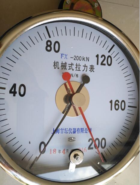机械式测力计FX-200KN 测油田、钻井20T拉力