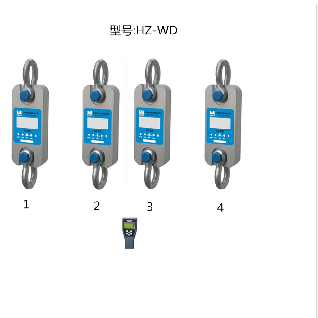新品4通道拉力计HZ-WD-10吨 一表同显测试数据